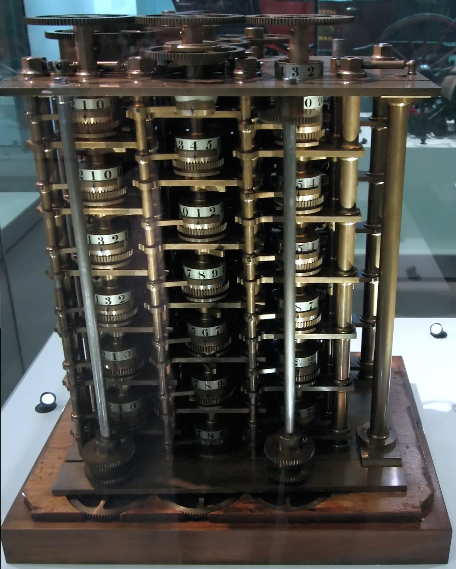 File:Charles Babbage Difference Engine No1.jpg - Wikimedia ...