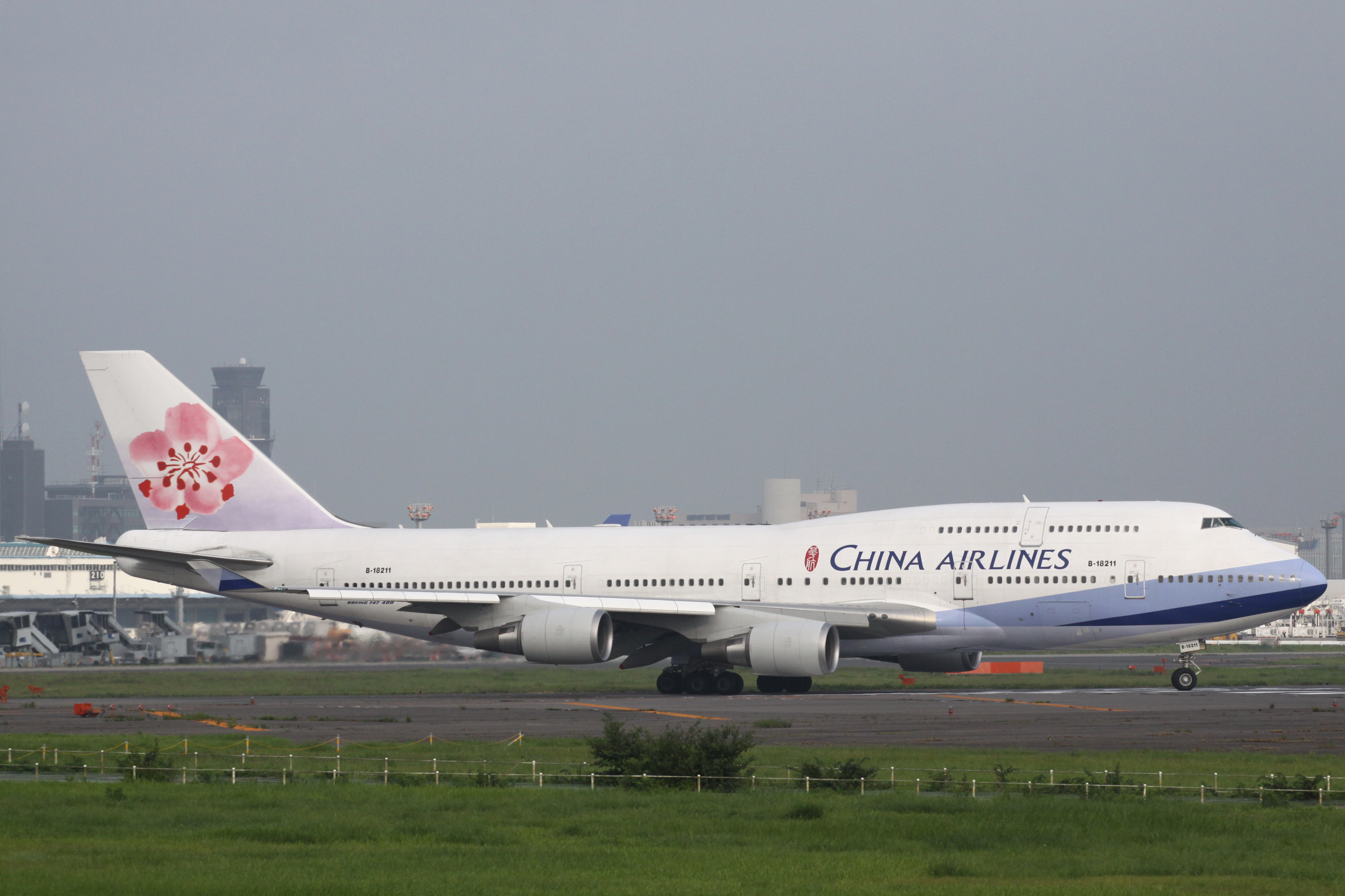 File:China Airlines B747-400(B-18211) (3817190847).