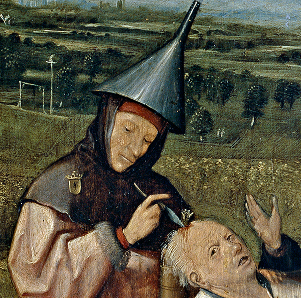 Cutting the Stone (detail)