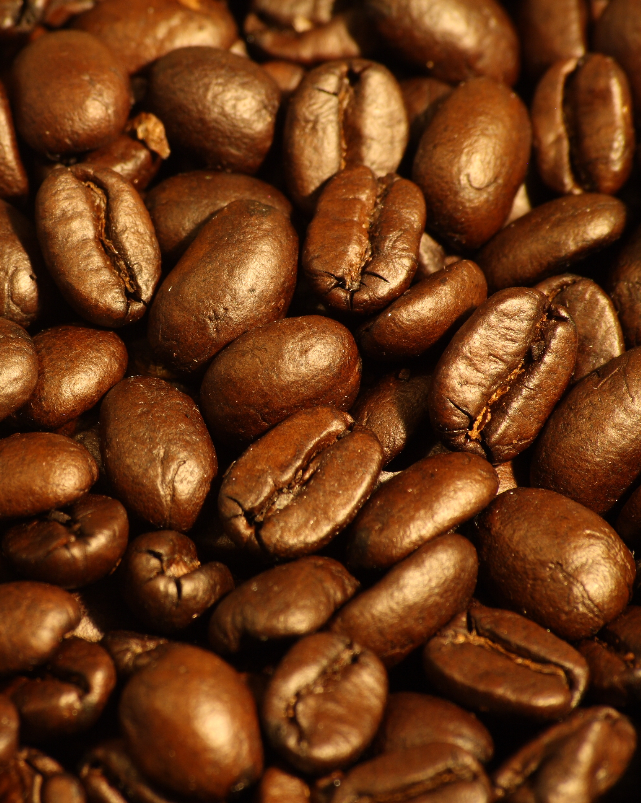 File:Dark roasted espresso blend coffee beans 2.jpg