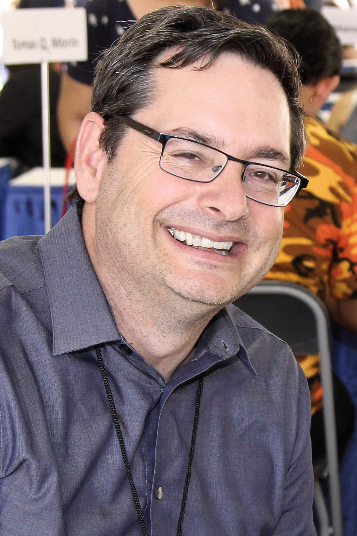 Gregory at the 2017 Texas Book Festival