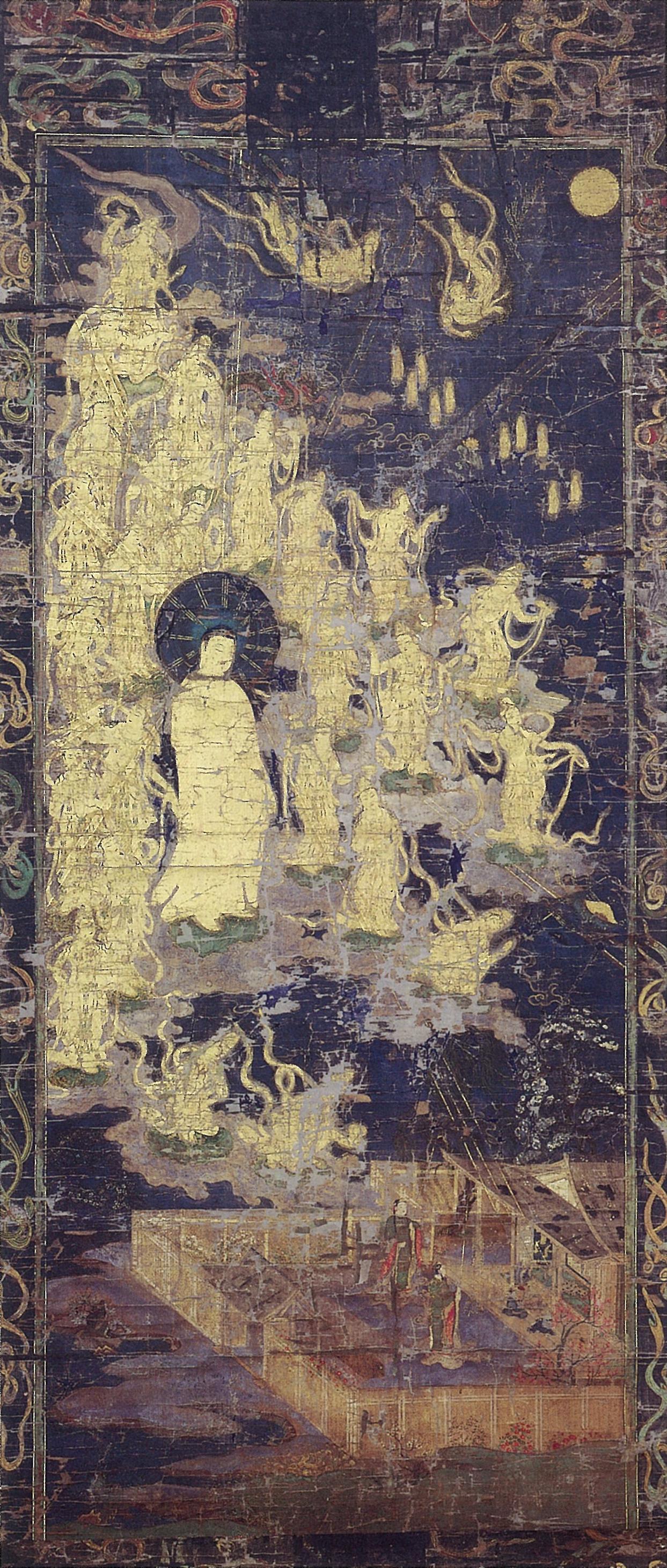 escentofmitbhamidaand25odhisattvas,amakuraperiod1185-1333,ukushimauseum,apan
