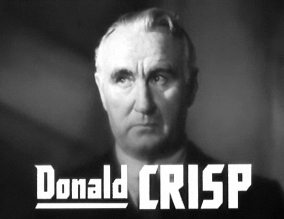 Depiction of Donald Crisp