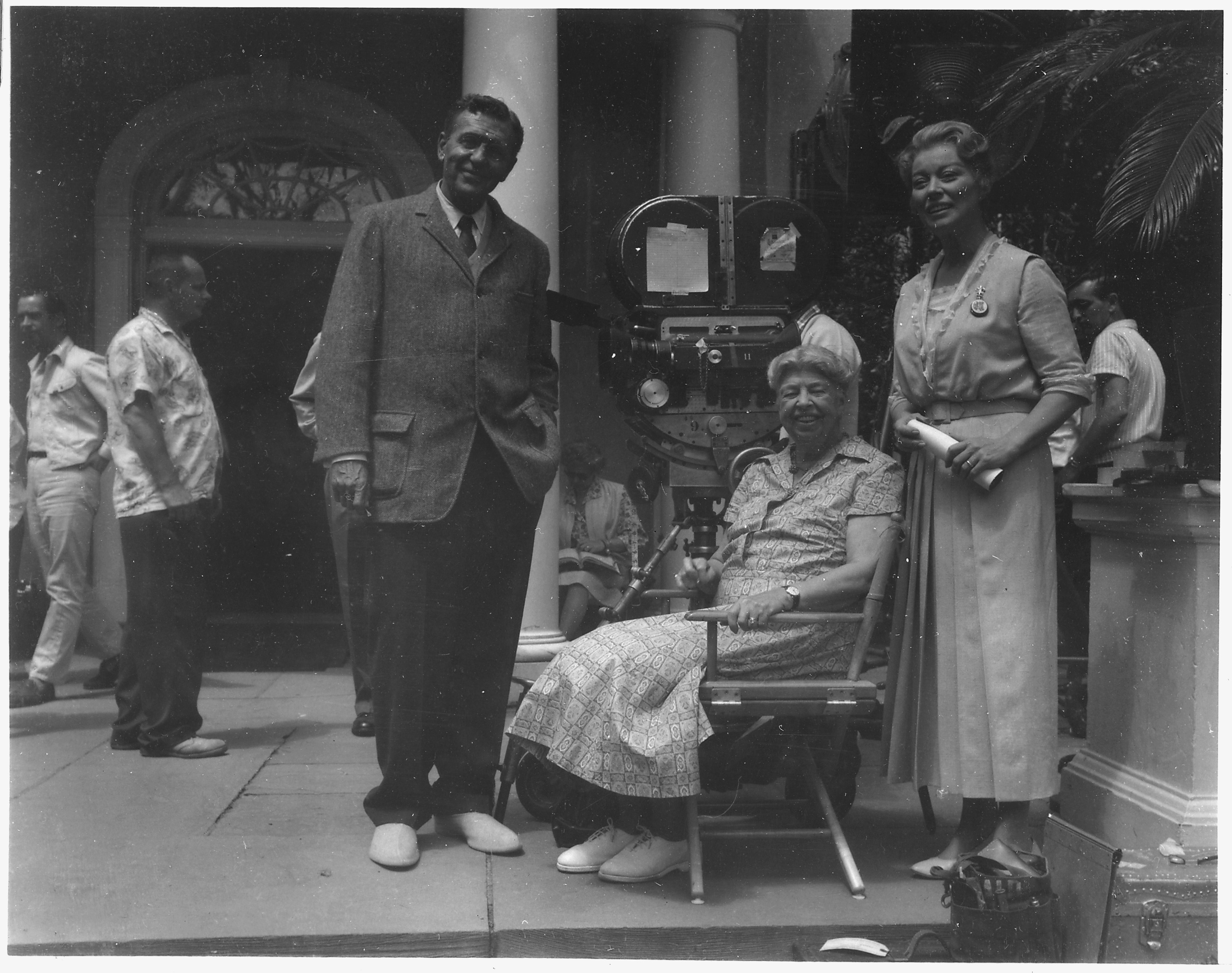 Eleanor_Roosevelt,_Ralph_Bellamy,_and_Gr