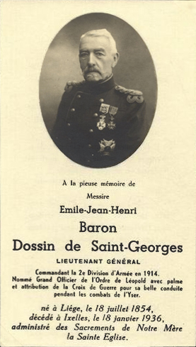 Image illustrative de l'article Émile Dossin de Saint-Georges