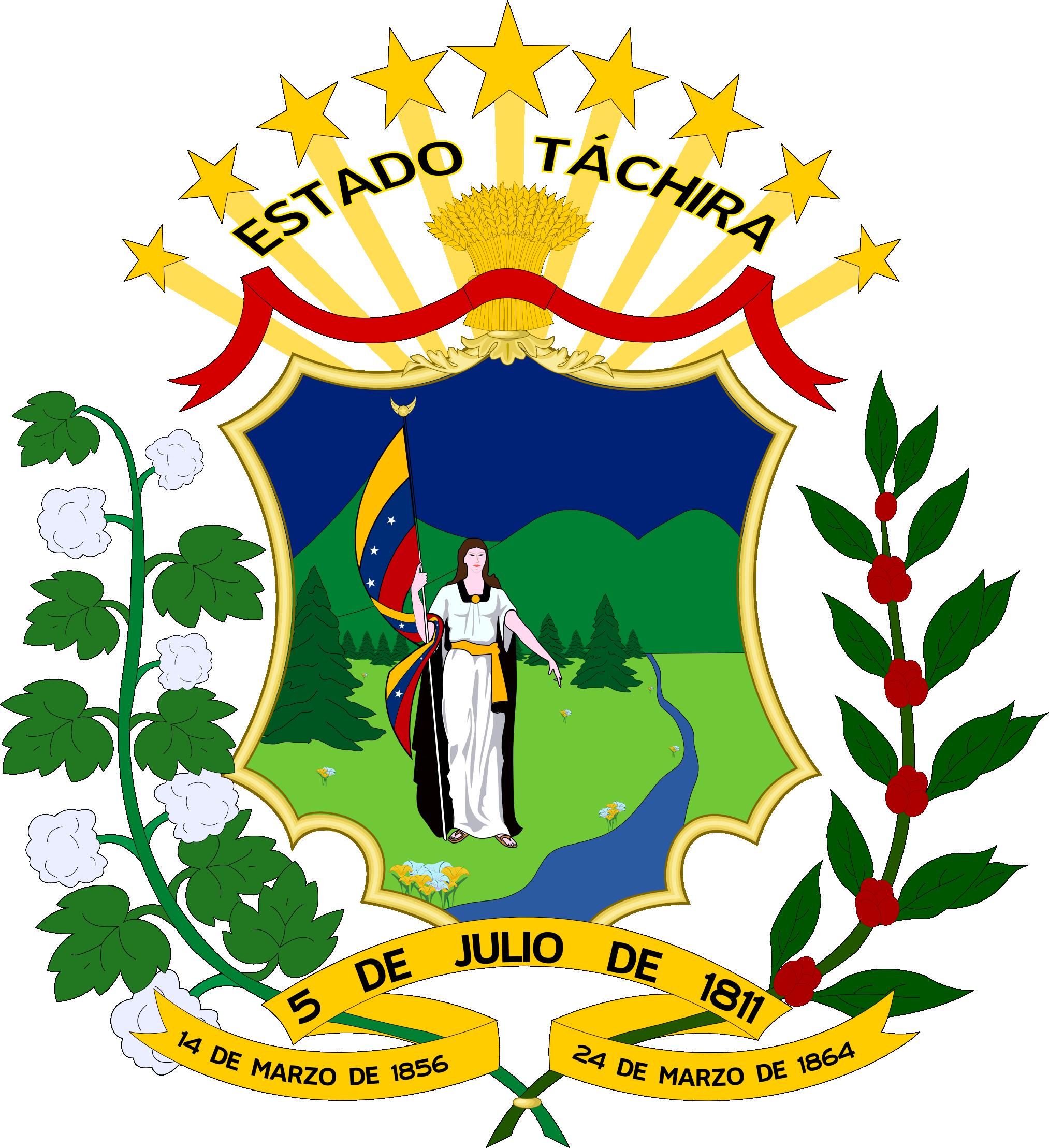 File:Escudo Estado Tachira.png - Wikimedia Commons