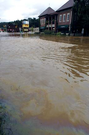 Pollution in Flooding