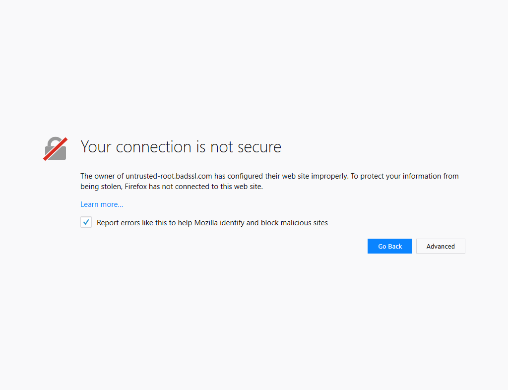 File:Firefox blocking a site with bad TLS configuration png