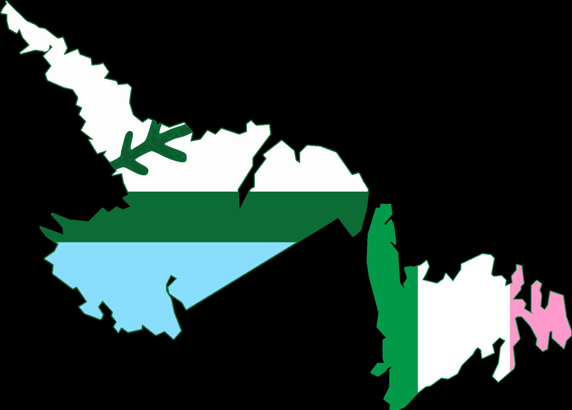 FileFlag Map Of Newfoundland And Labrador Island Flagspng - Newfoundland and labrador map