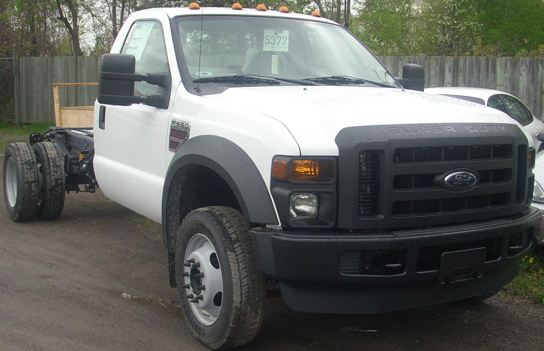 Ford F 550 Super Duty