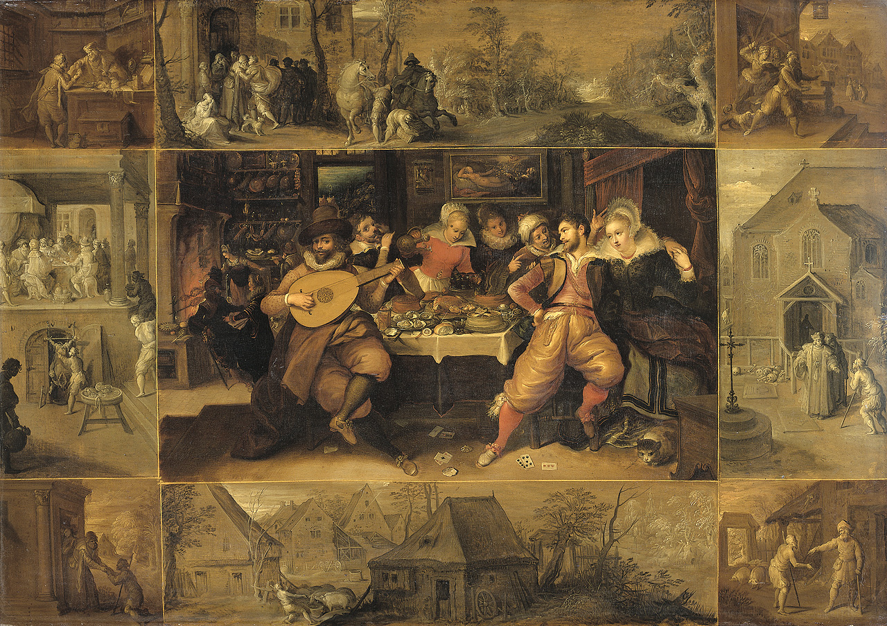 file frans francken ii the story of the prodigal son 1600 1620
