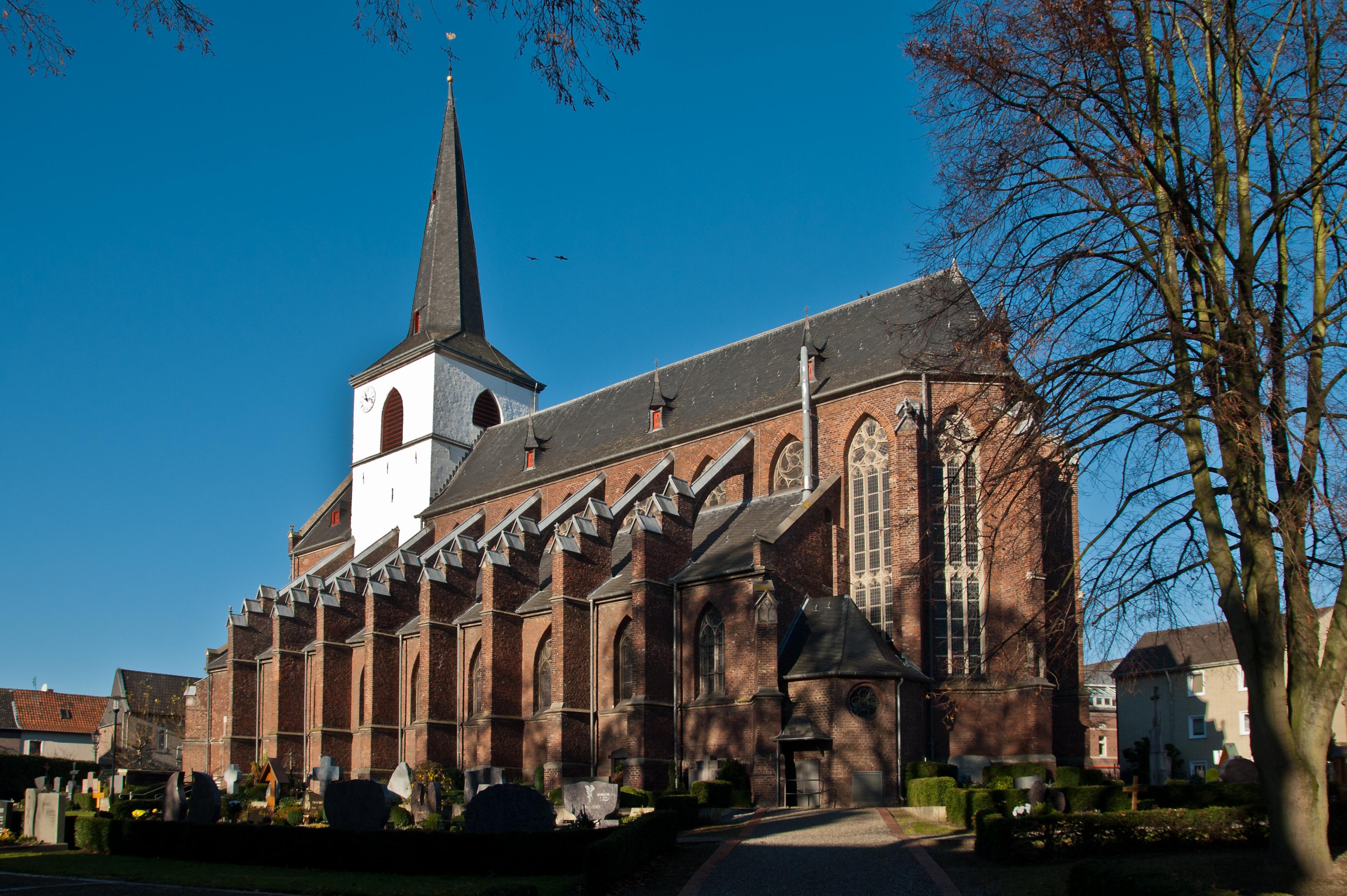 File Gangelt Kirche 1 Jpg Wikimedia Commons