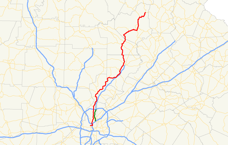 FileGeorgia State Route Mappng Wikimedia Commons - Georgia state map