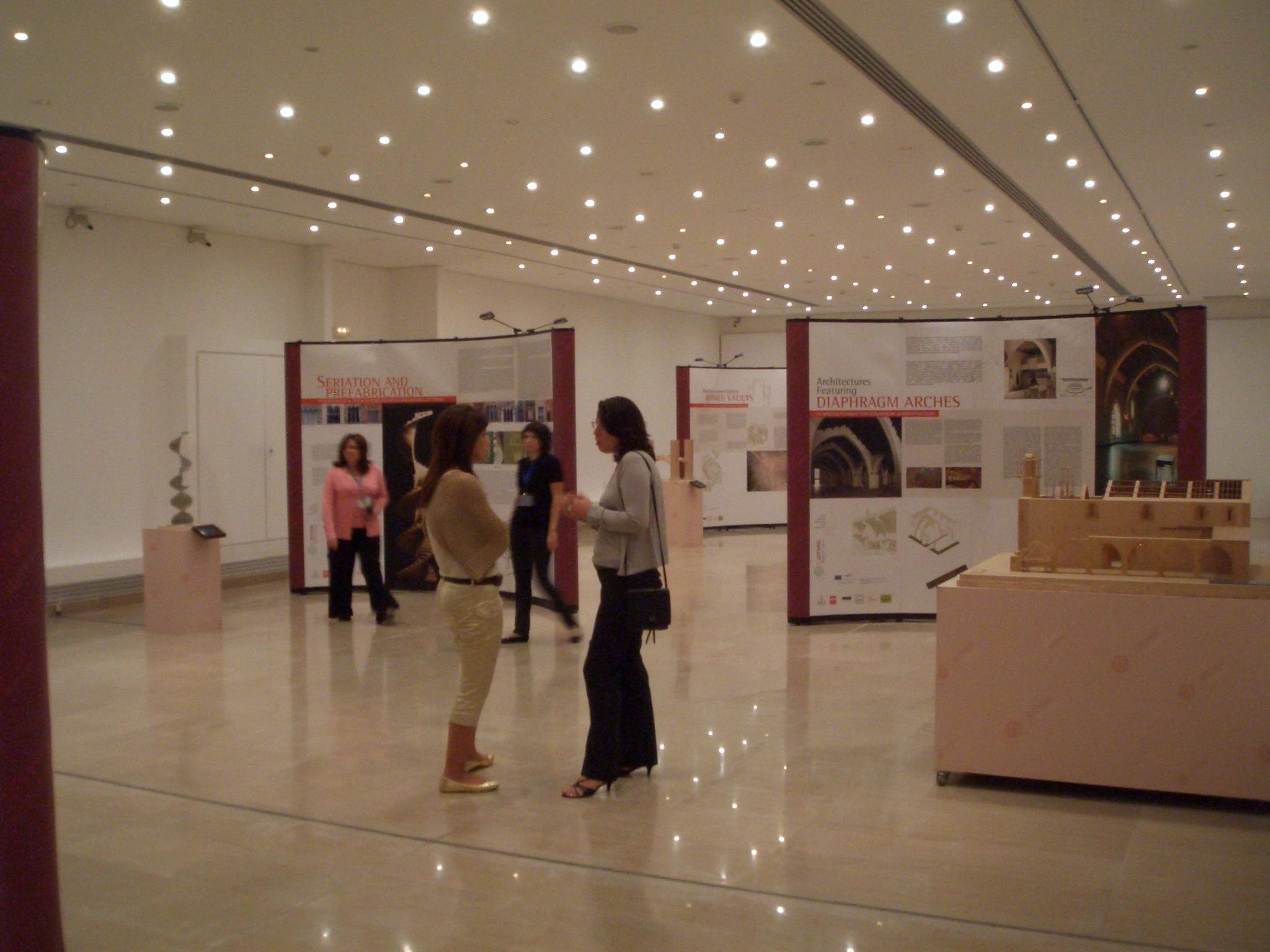 D Coform Exhibition : Travelling exhibition