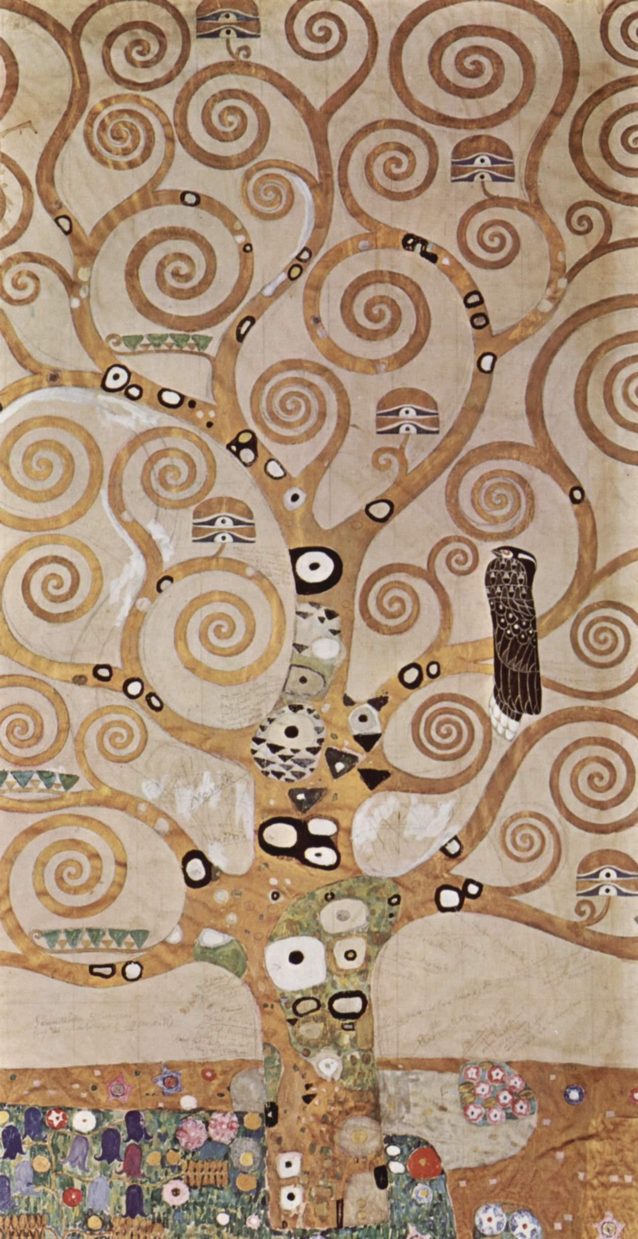 árbol de la vida de Gustav Klimt centro