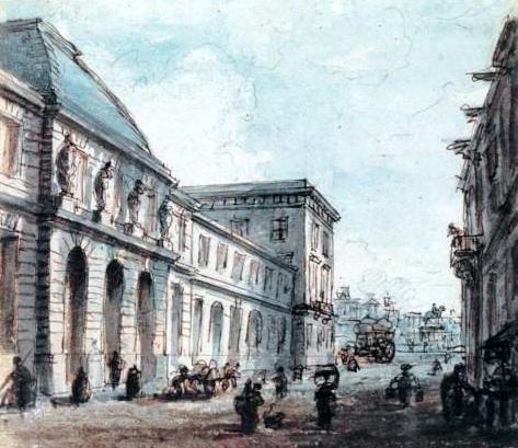 Fichier:Hôtel des Monnaies (Paris) by Jean-Baptiste Gautier Dagoty.jpg