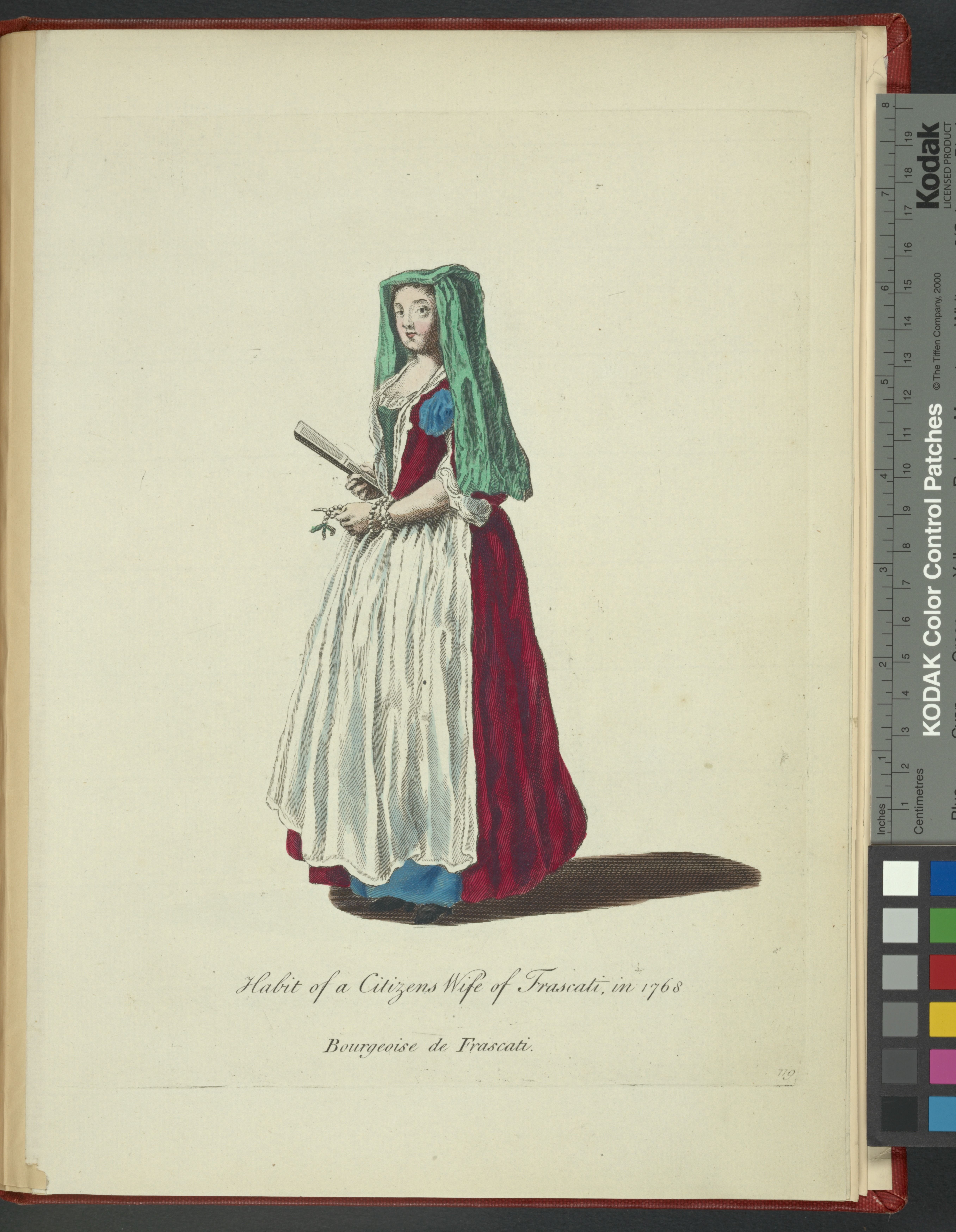 File:Habit of a citizen's wife of Frascati in 1768