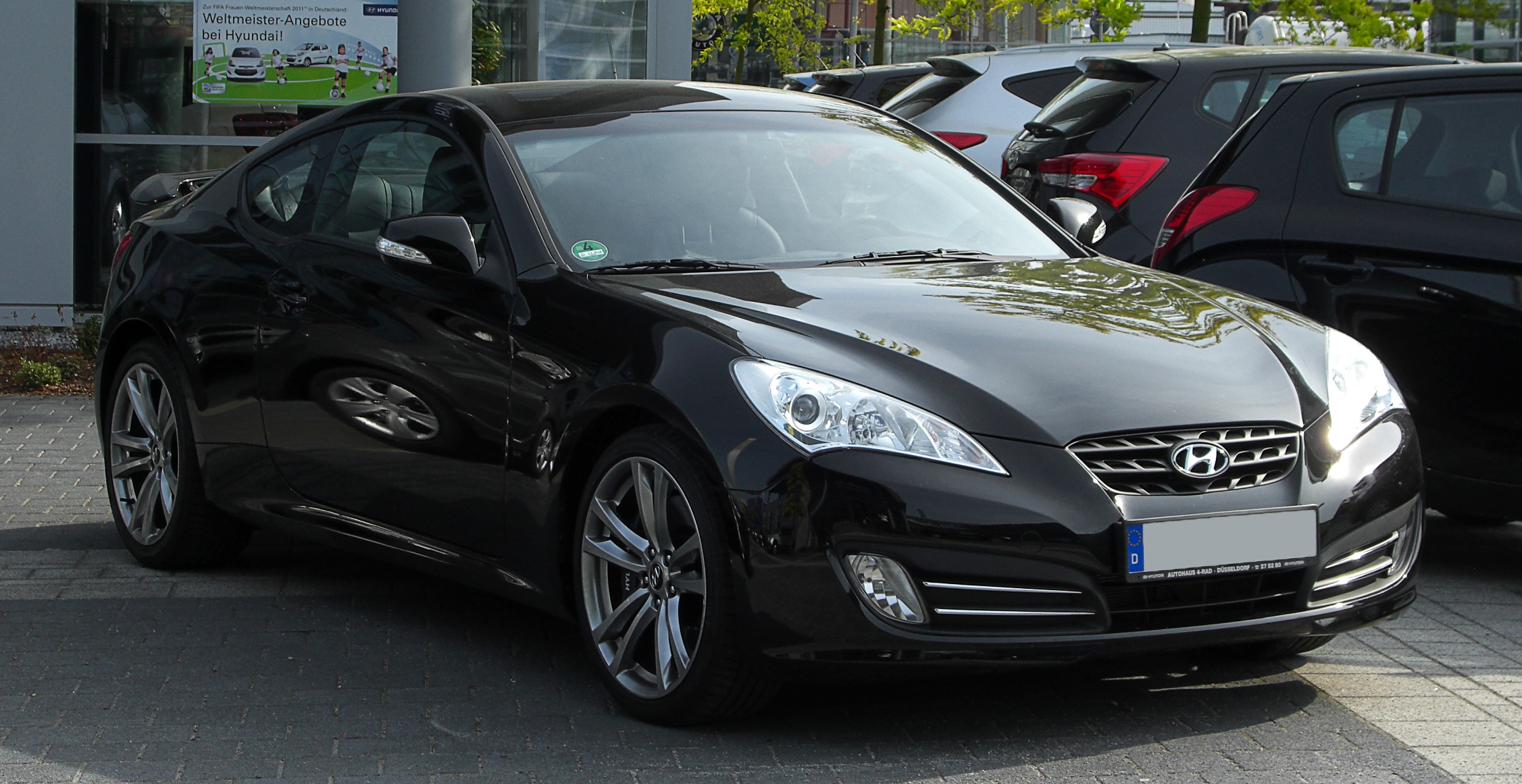 File Hyundai Genesis Coup 233 3 8 V6 Frontansicht 7 Mai