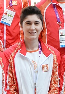 Ilham Aliyev met athletes who will represent Azerbaijan in the first European Games 21 (Azizova).jpg