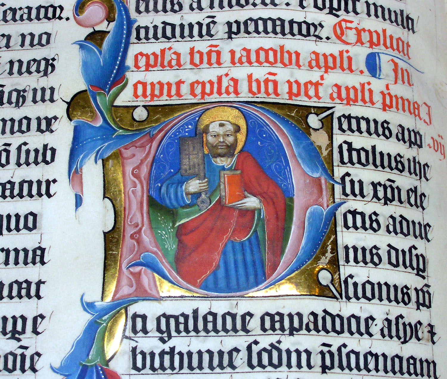 Bible Illuminated Letters