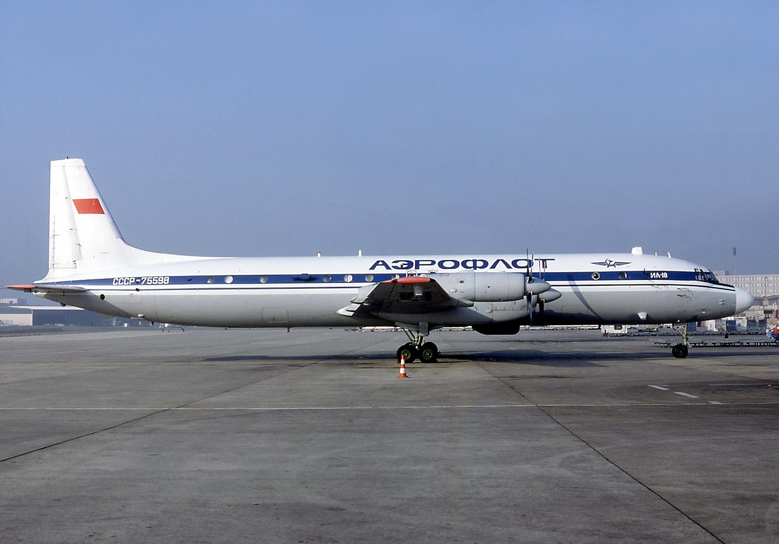 File Ilyushin Il 18dts Meteor Aeroflot An0746363 Jpg