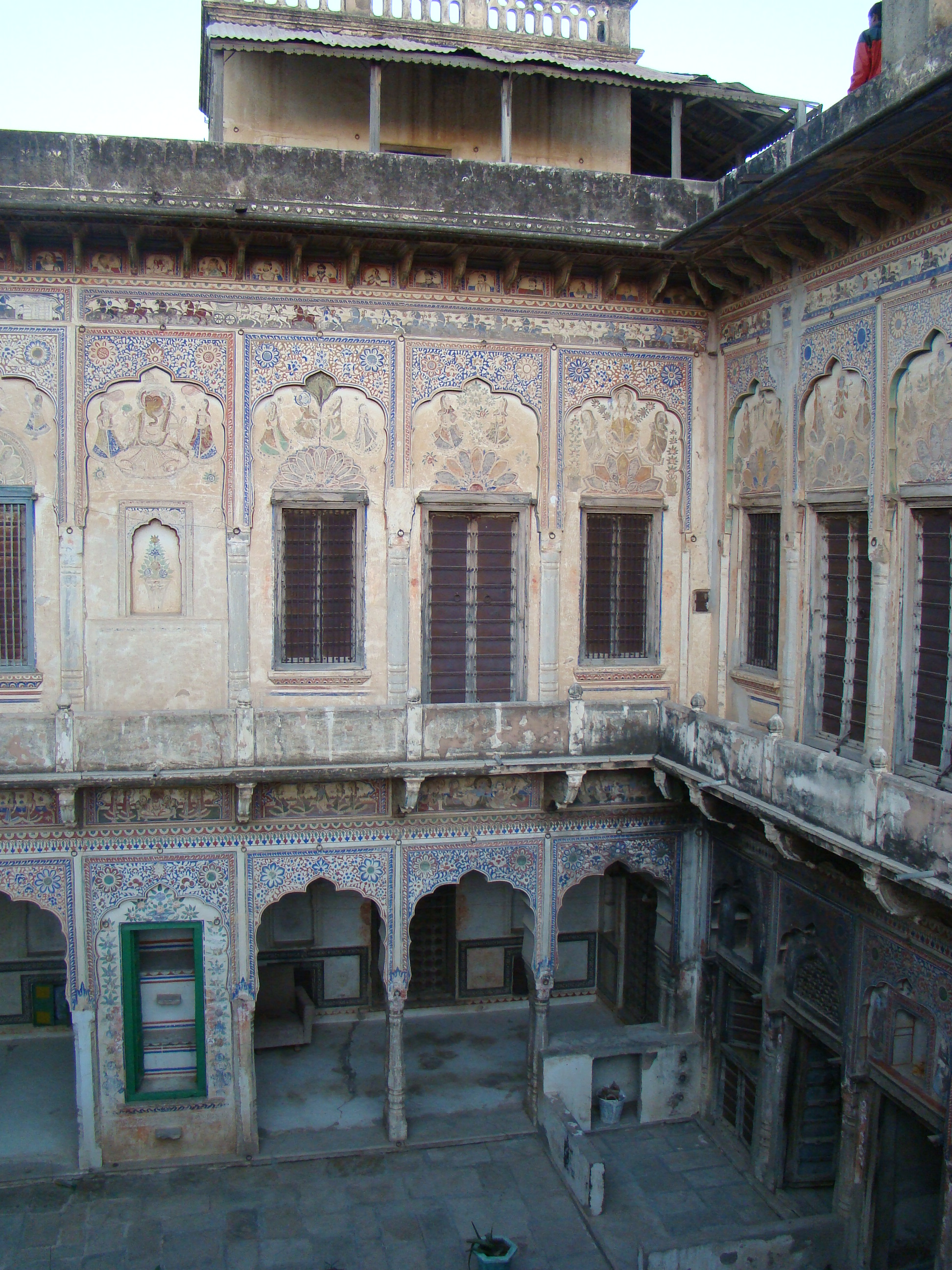 Mandawa India  city photos gallery : Description India Mandawa haveli 12 ni