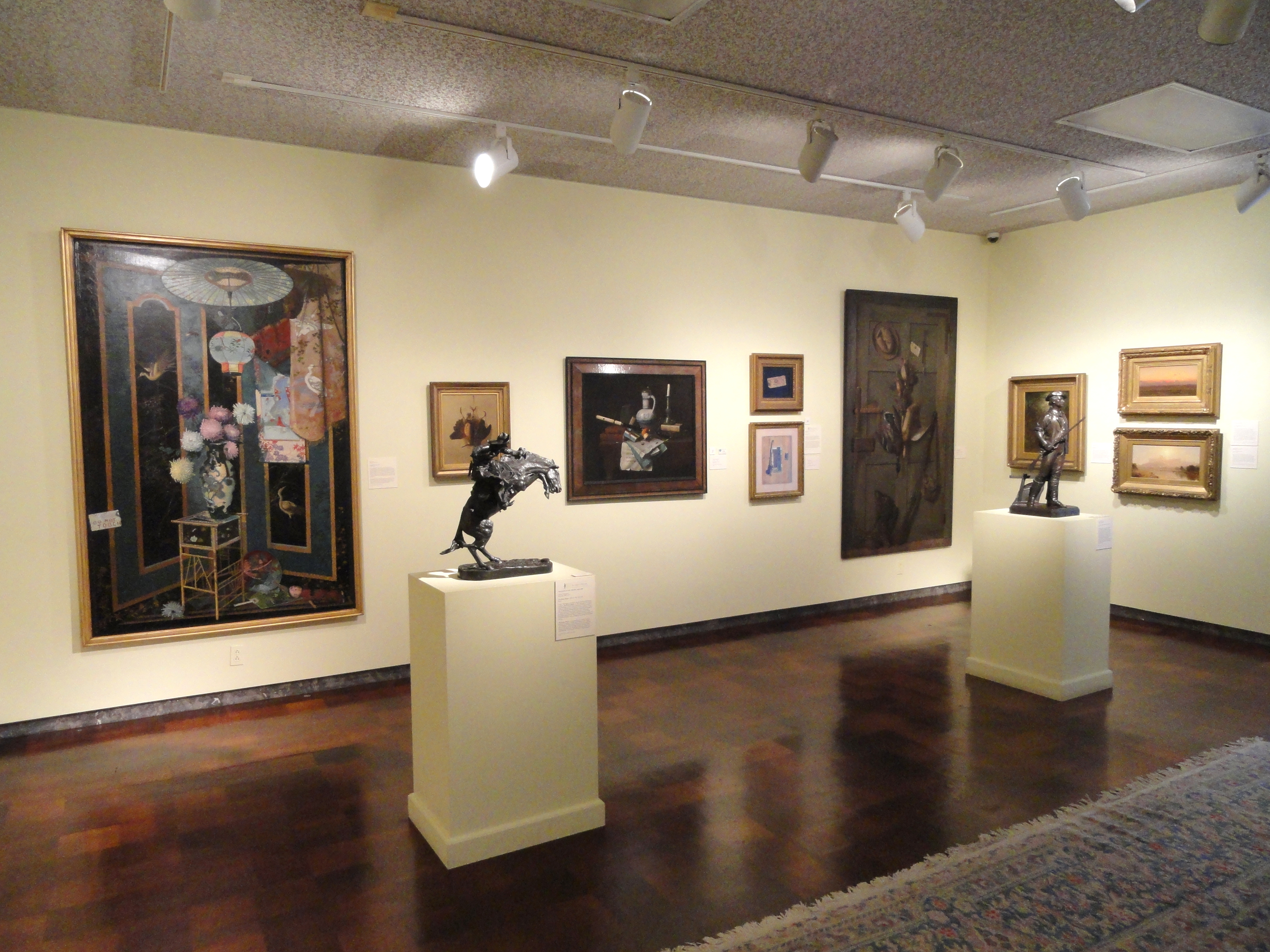 File:Interior - Museum of Fine Arts, Springfield, MA ...
