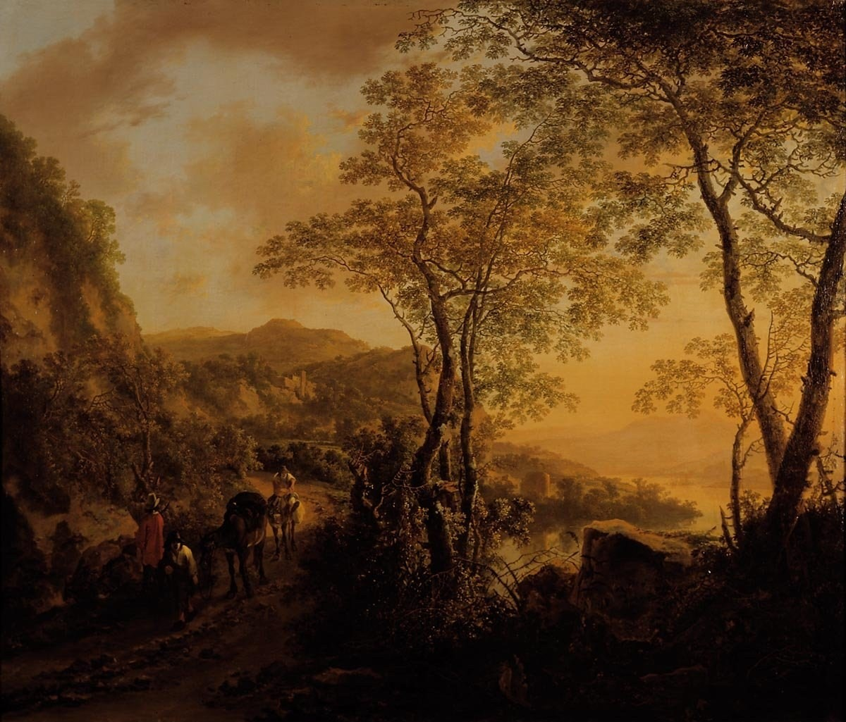 italian landscape with ox - photo #10