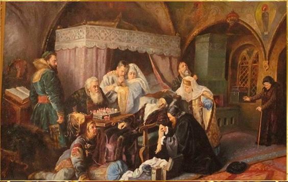 Как умирали Иван Грозный и другие русские цари - в картинах