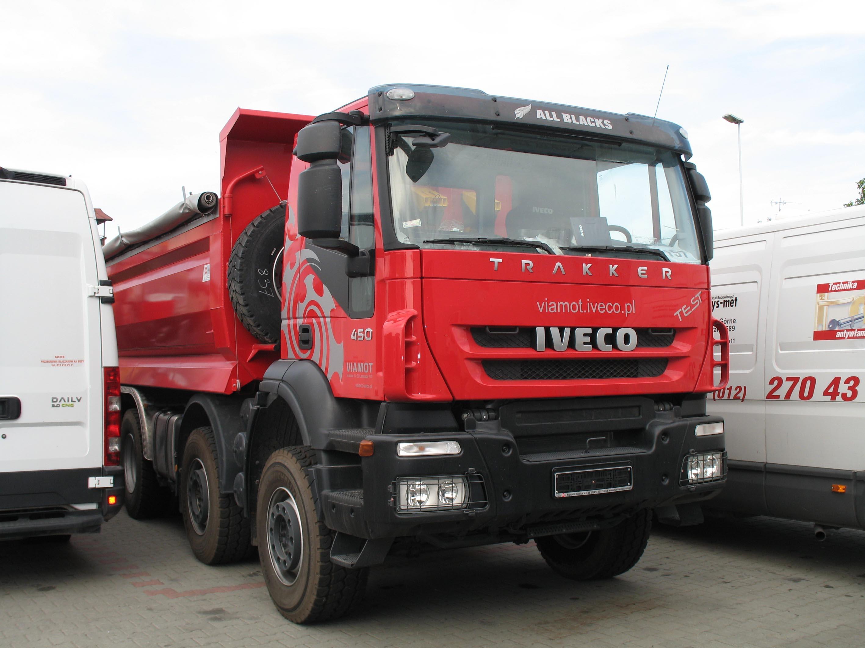 Herpa camiones Iveco Trakker 4x4 thermomulden-SZ kommunalorange 311373