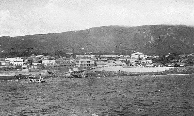 Izu Oshima in 1930s