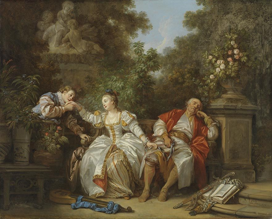 Жан-Батист Ле Принс - Der heimliche Liebhaber - 39 - Bavarian State Painting Collections.jpg