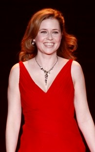Jenna Fischer vid The Heart Truth Fashion Show 2008.