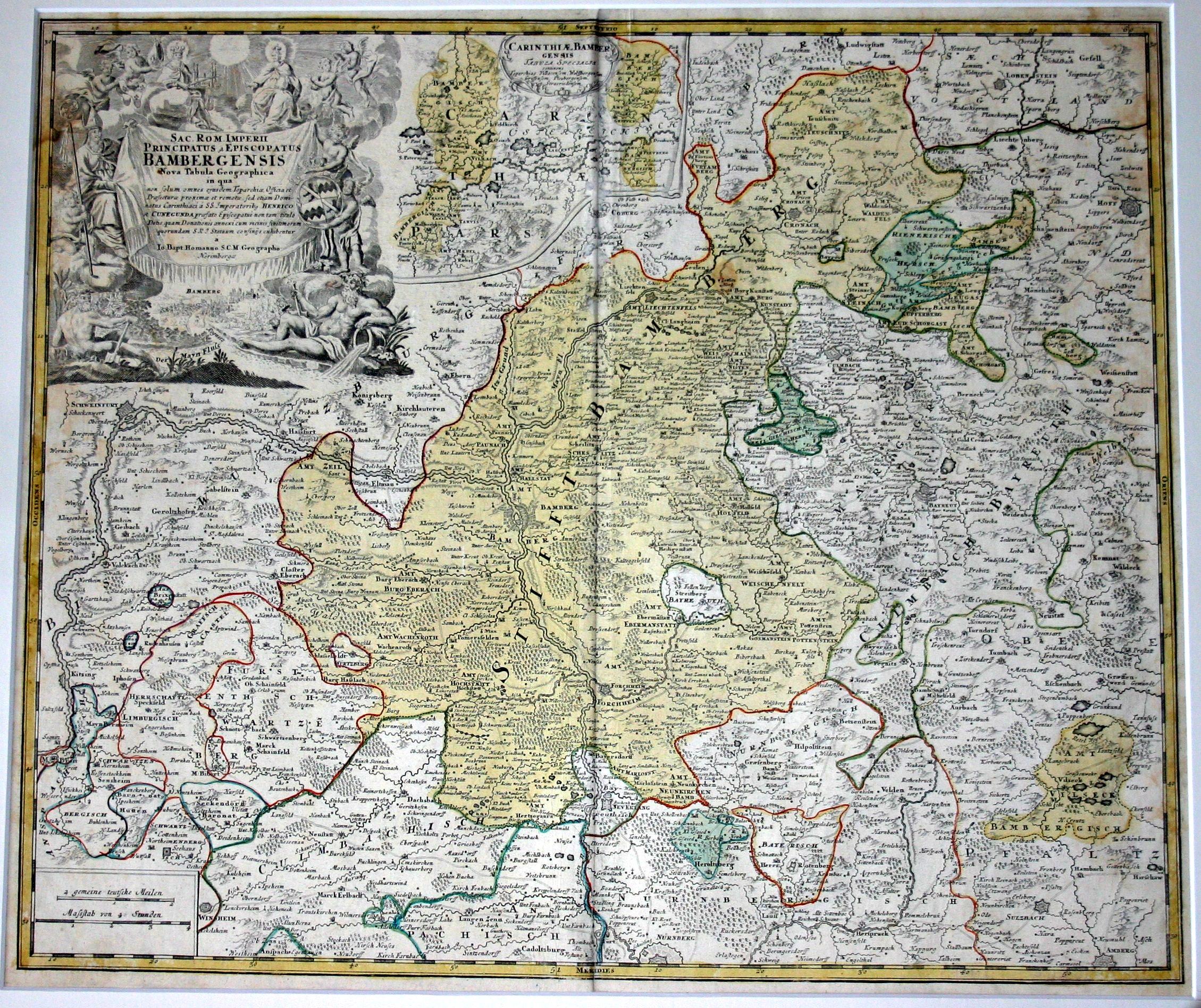 Karte Bamberg Landkarte.Datei Karte Hochstift Bamberg Jpg Wikipedia