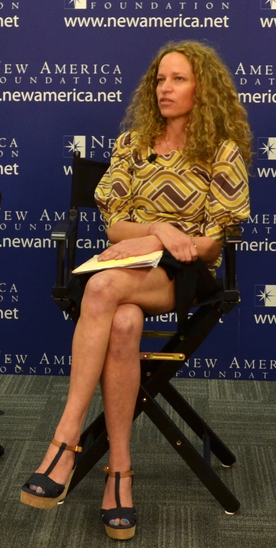 Katie Roiphe at [[New America (organization)|New America]] discussion in 2013