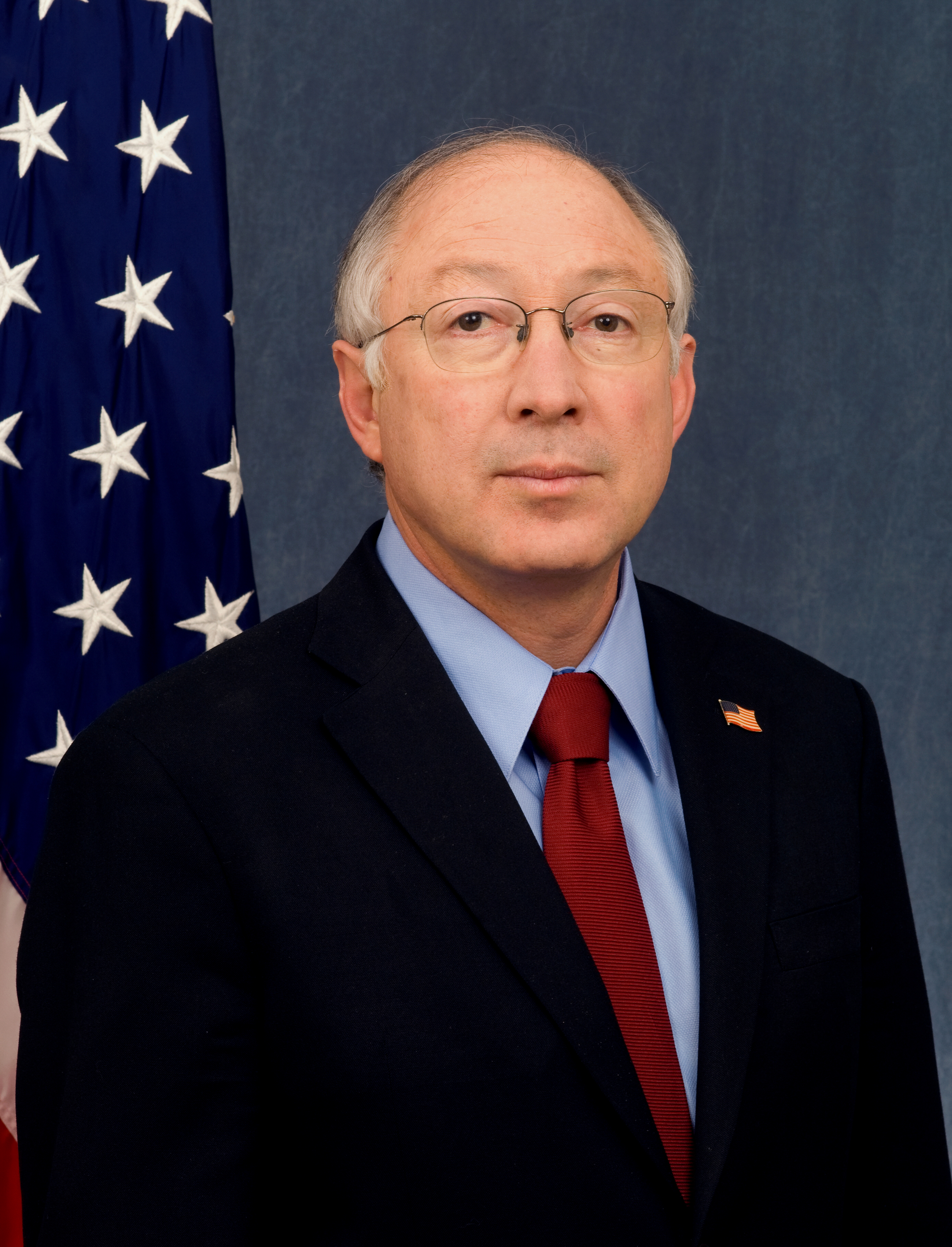 Wonderful File:Ken Salazar Official DOI Portrait