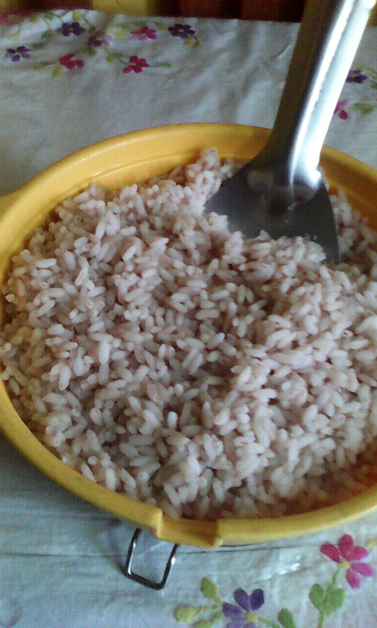Avoid rice for reduce weight loss