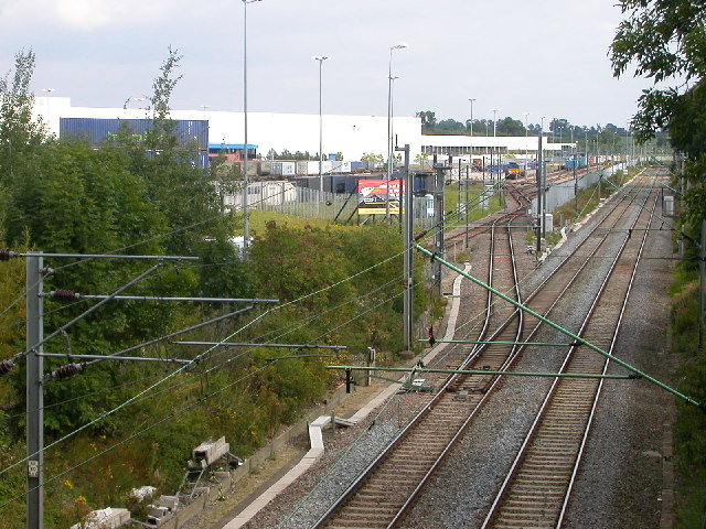 Daventry International Rail Freight Terminal