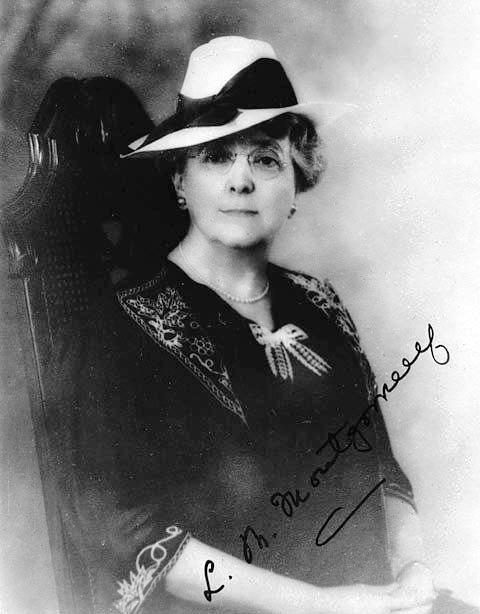 Picture of an author: L. M. Montgomery