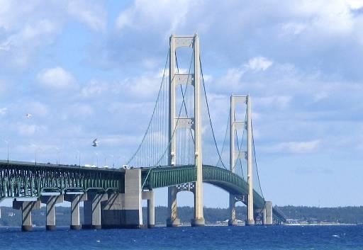 upper peninsula mackinac bridge mac 5 pretty cool bridge