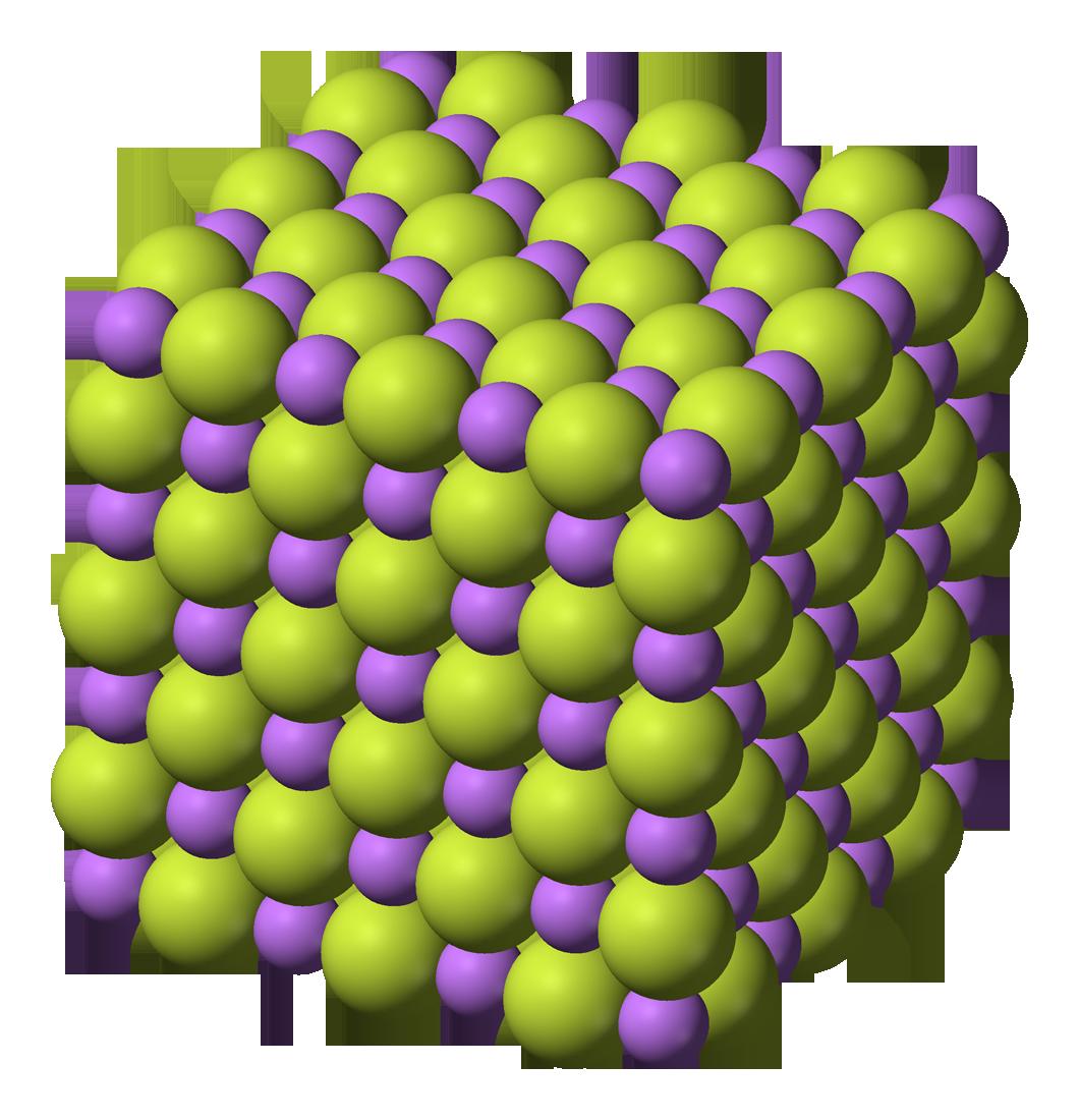 Fluoruro de litio wikipedia la enciclopedia libre for Modelo solido con guijarros