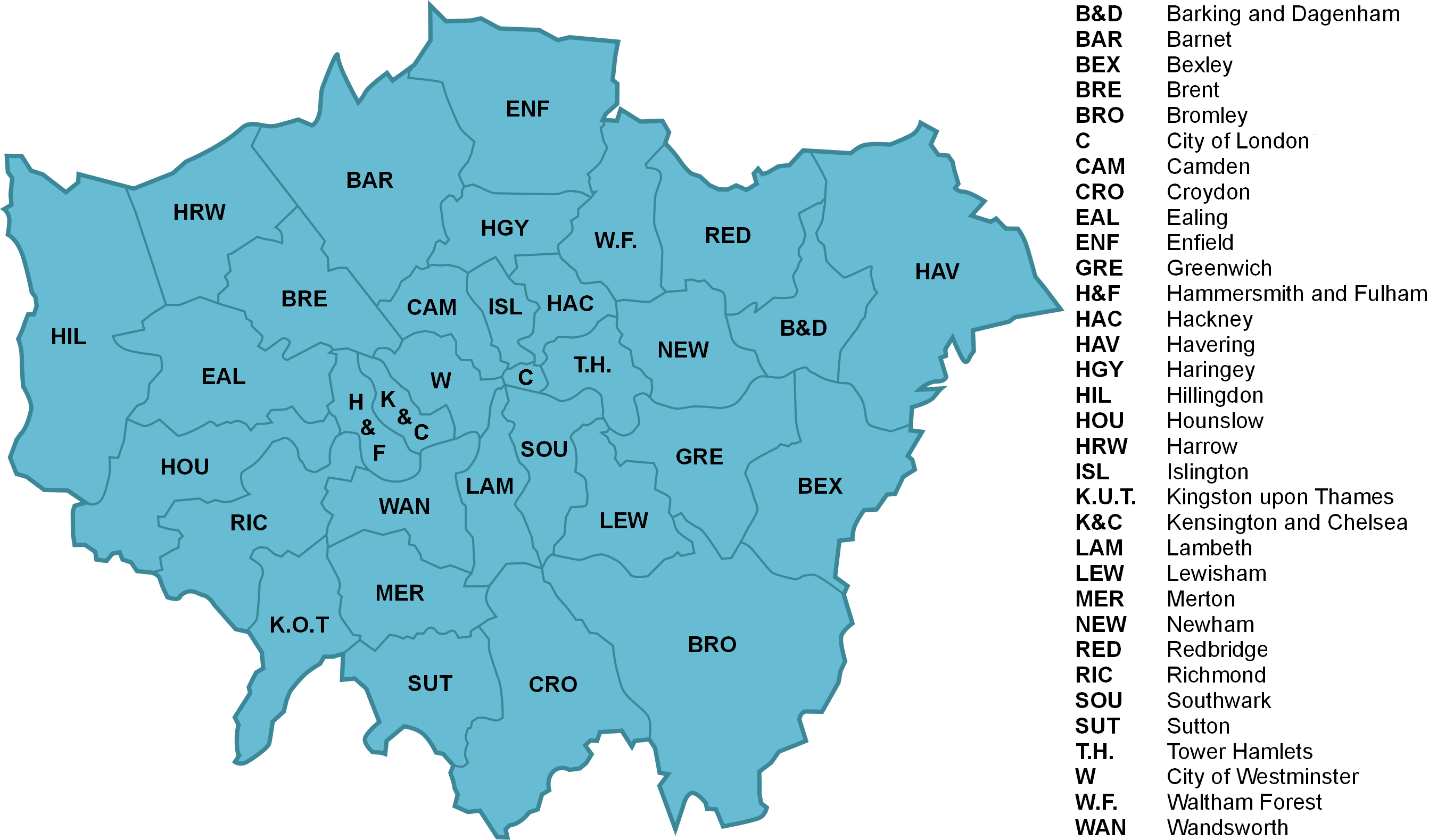 FileLondon Boroughs Labelled With Keypng Wikimedia Commons - London map png