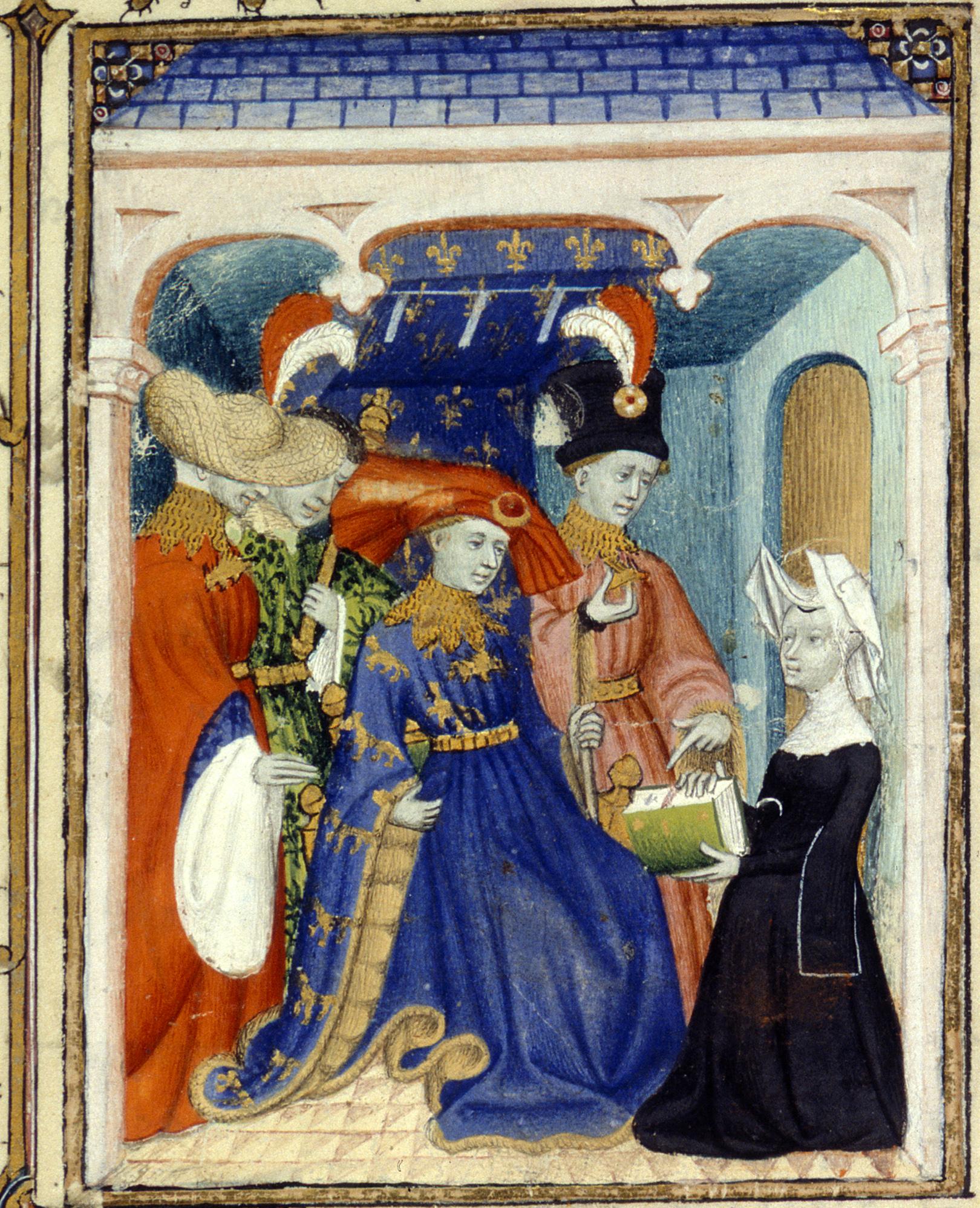 Depiction of Luis de Valois