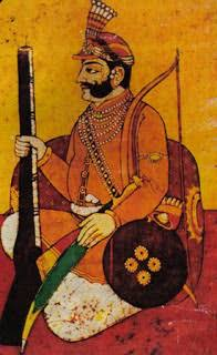 Maharaja Chhatrasal (4 May 1649 – 20 December 1731) was a medieval Indian warrior from the Bundela clan, who fought against the Mughal Empire, and established his own kingdom in Bundelkhand.