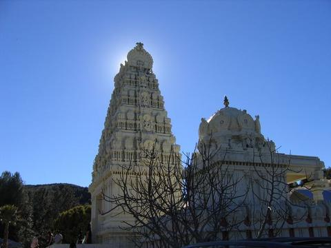 Sri Venkateswara, Malibu Hindu Temple Malibu_Hindu_Temple_2005_12_29