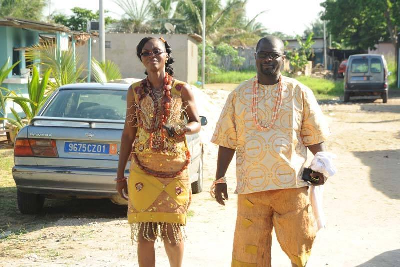 Mariage en tenue traditionel Bété (Centre-Ouest de la Côte d'Ivoire)