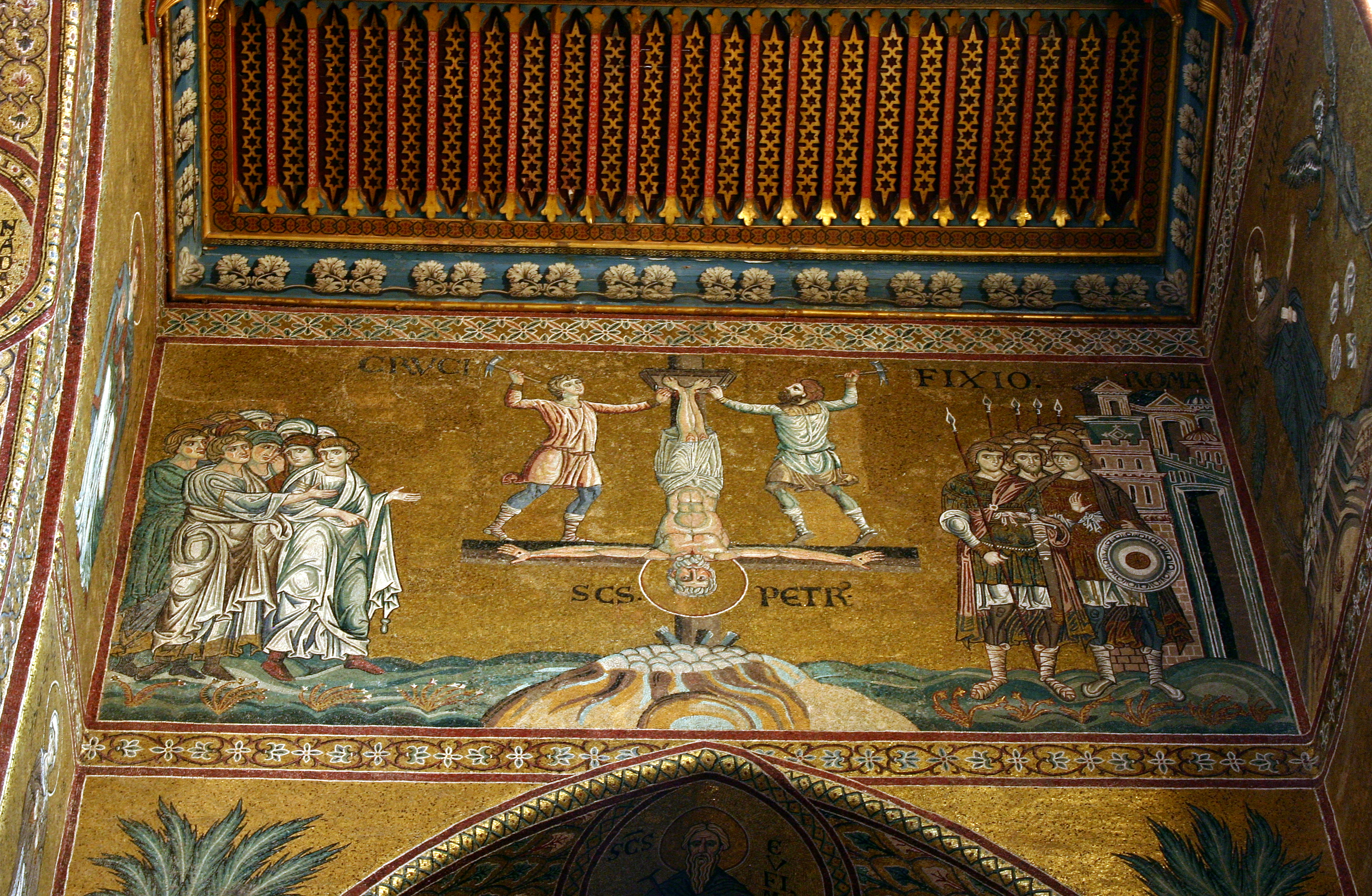 https://upload.wikimedia.org/wikipedia/commons/1/1d/Martyrdom_of_St_Peter_-_Cathedral_of_Monreale_-_Italy_2015.JPG