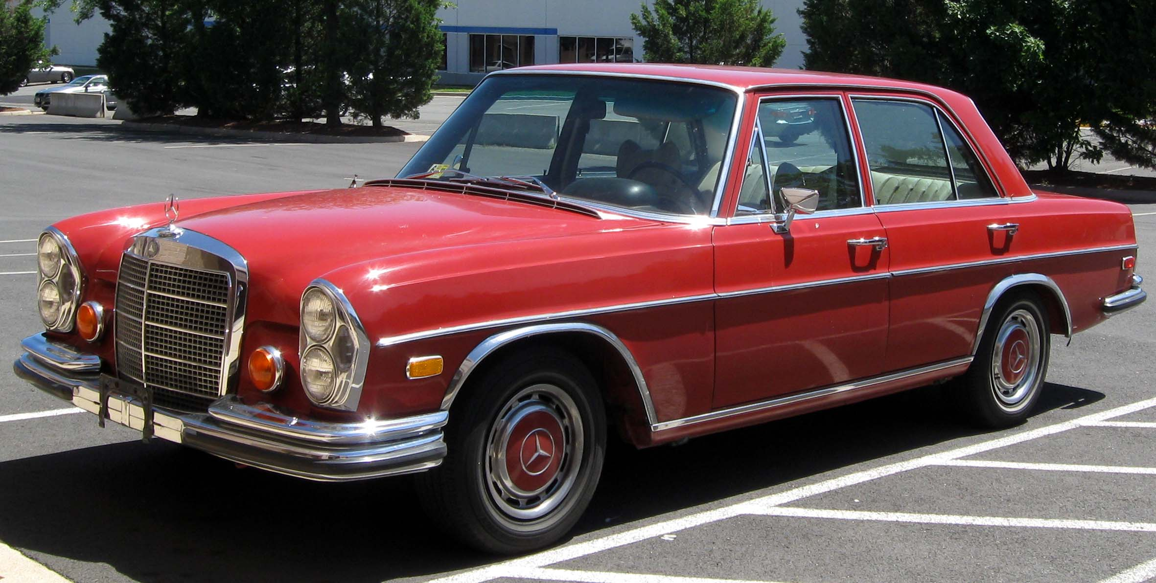 Mercedes w108 partsopen for Mercedes benz 108