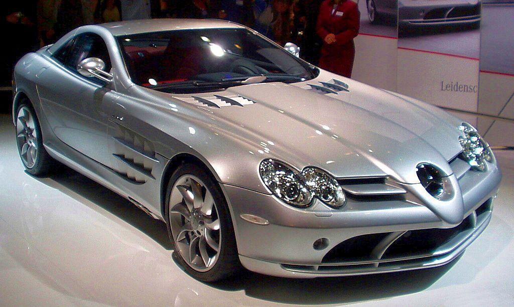 Mercedes Benz Slr Mclaren Black. Mercedes-Benz SLR McLaren