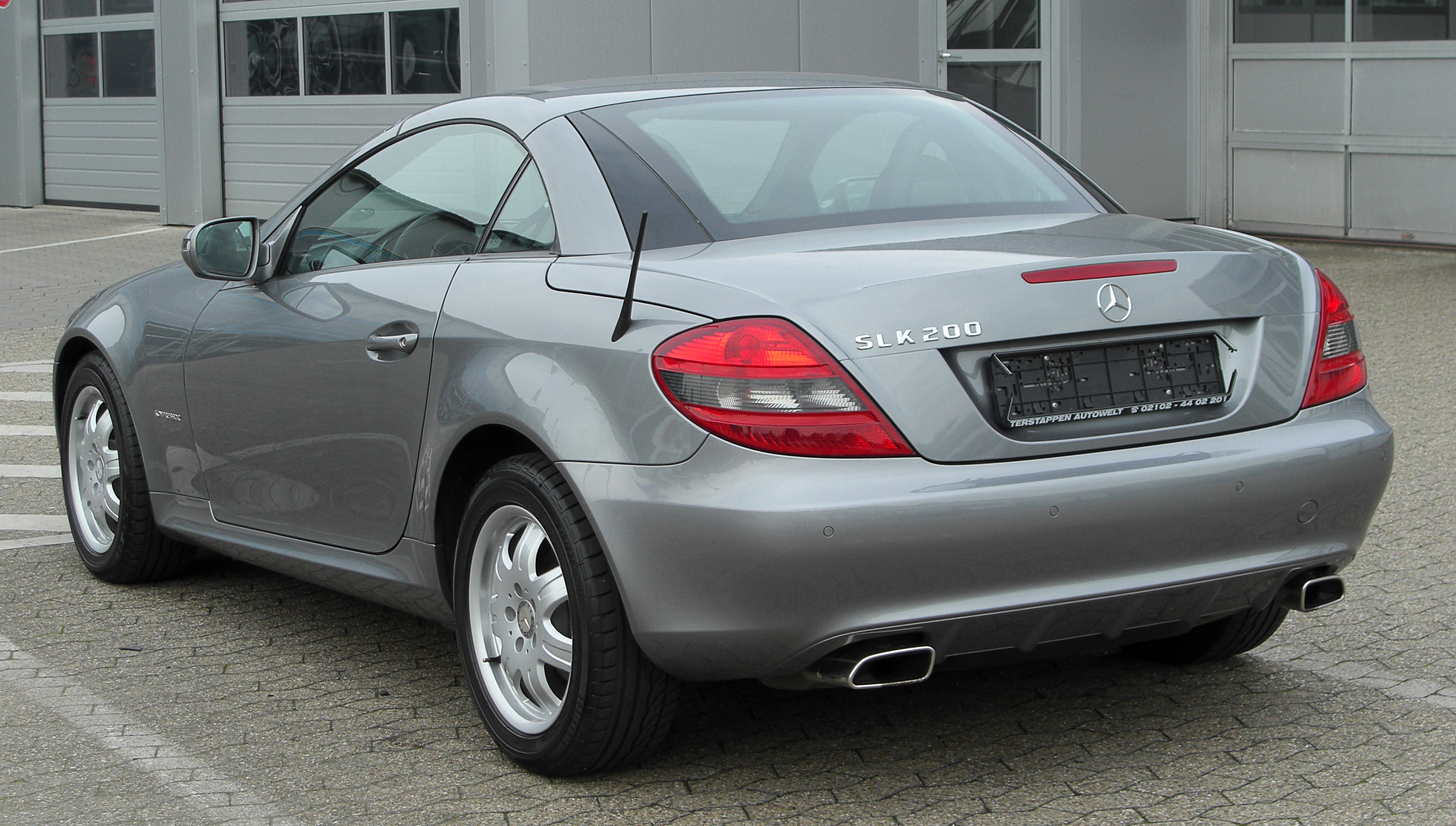 file mercedes slk 200 kompressor r171 facelift rear. Black Bedroom Furniture Sets. Home Design Ideas